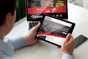 website update and launch desktop and ipad view