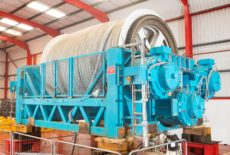 AX-S 125T Fibre Rope Drum Winch