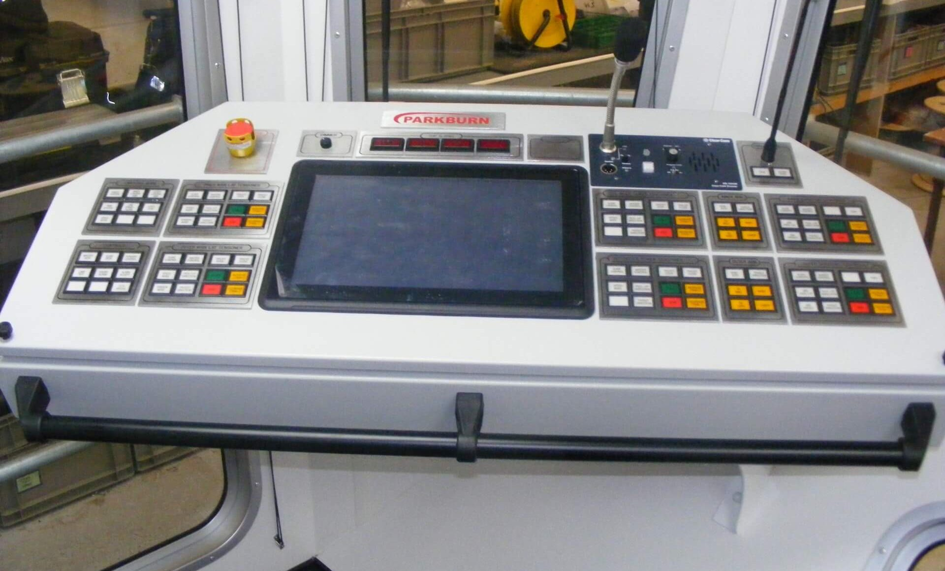 cable lay control console