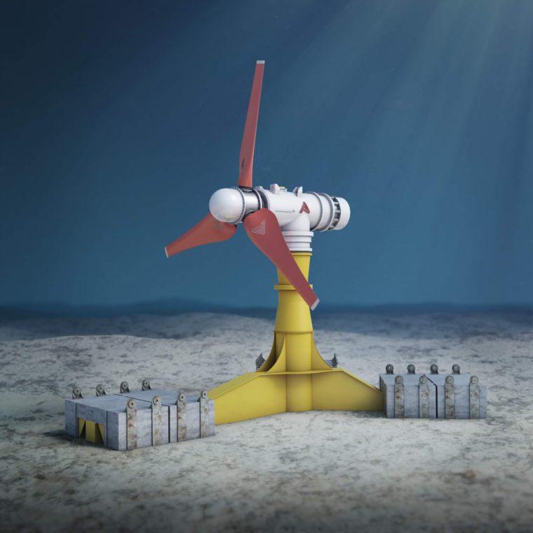 atlantis subsea turbine