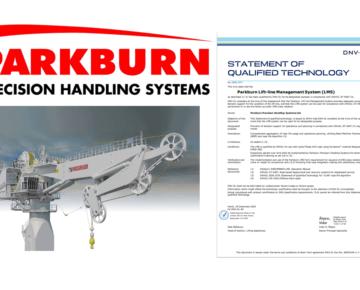 Parkburns Lift-line Management System awarded 'qualified technology status' by DNVGL